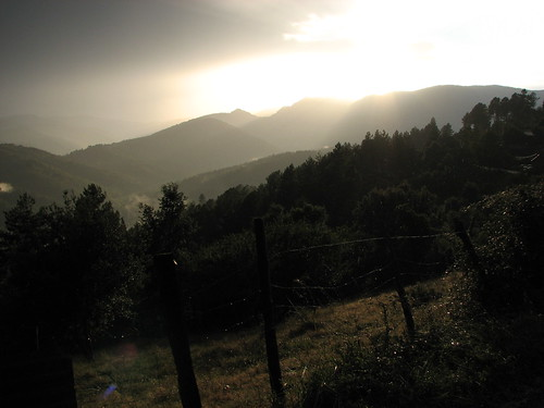 Stormy Evening in Les Cévennes