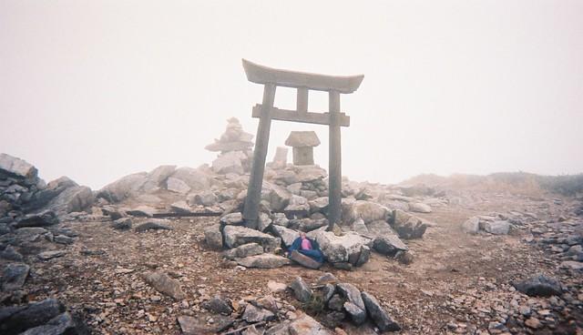 Kitamata-dake / 北股岳山頂