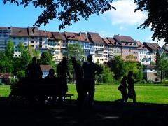 9500 Wil, weekend scene on the Stadtweiher