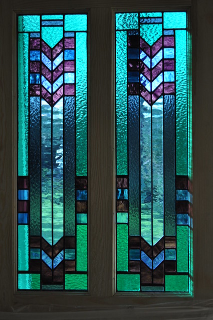 Art deco door panels by john hardisty flickr photo for Art glass windows and doors