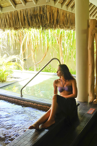 Deep sea cold plundge Deep Ocean Spa InterContinental Bora Bora  Resort & Thalasso Spa