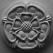 Stone Tudor Rose Carving by seanhepburn2006
