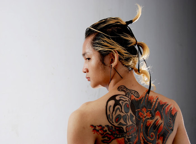 Samurai Tattoos with Skulls