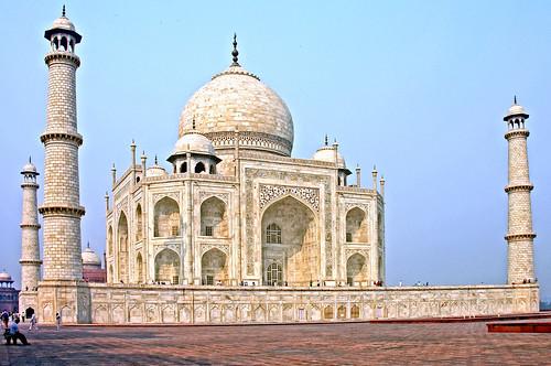 無料写真素材, 建築物・町並み, 宗教施設, タージ・マハル, 世界遺産, 風景  インド