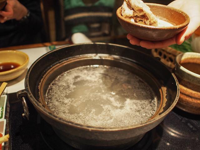 Shabu-shabu is a Japanese Dish