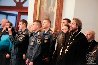 Молебен в Спасском соборе 155