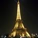 13 mars 2014 - Au fil de l'eau, la Tour Eiffel et la lune...