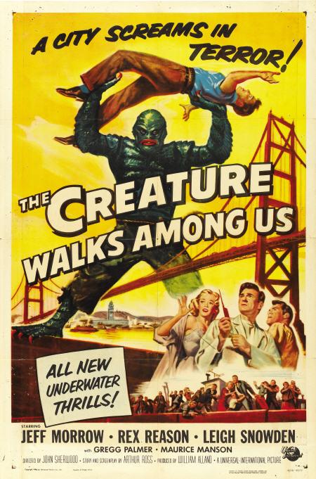 creature walks among us