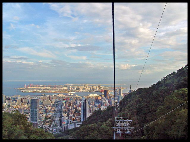 Kobe: Panorama from the Shin-Kobe ropeway 3