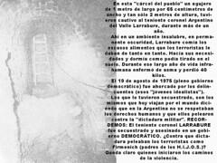 """""""Carcel del Pueblo"""" de la """"justicia"""" Montonera (Asi respetaban los Derechos Humanos"""