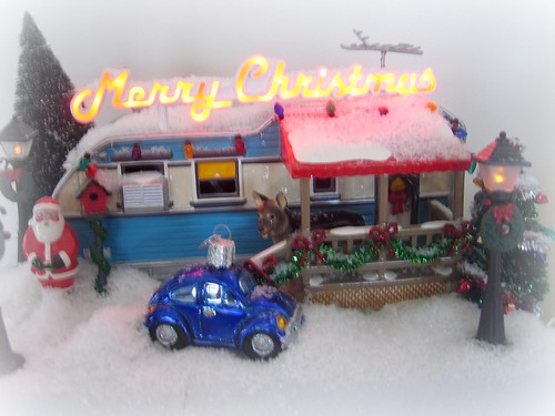 Dept 56 trailer decoration - christmas decorations