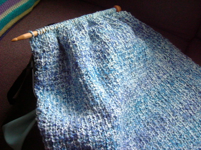 Prayer shawl in tunisian crochet Flickr - Photo Sharing!