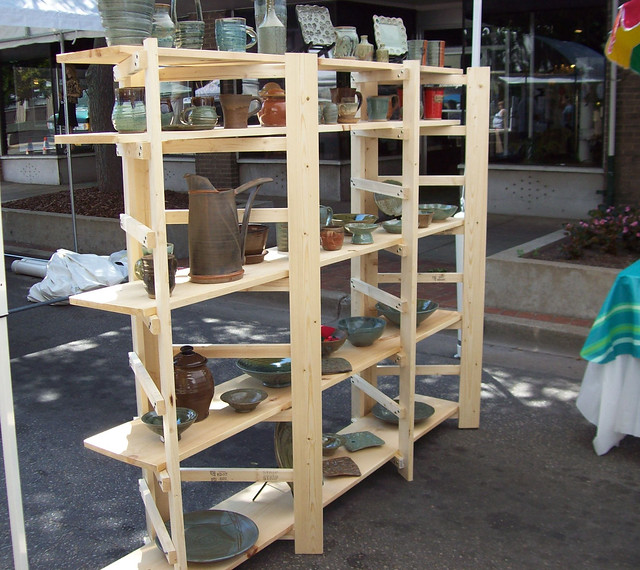 Portable Shelves For Craft Shows