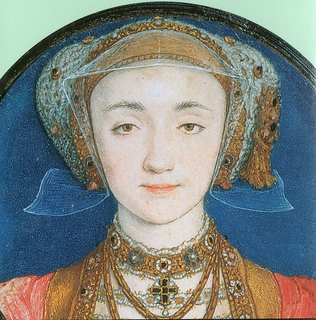 Anne of Cleves by Holbein, c.1539.
