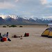 Small photo of Camping on the Alvord