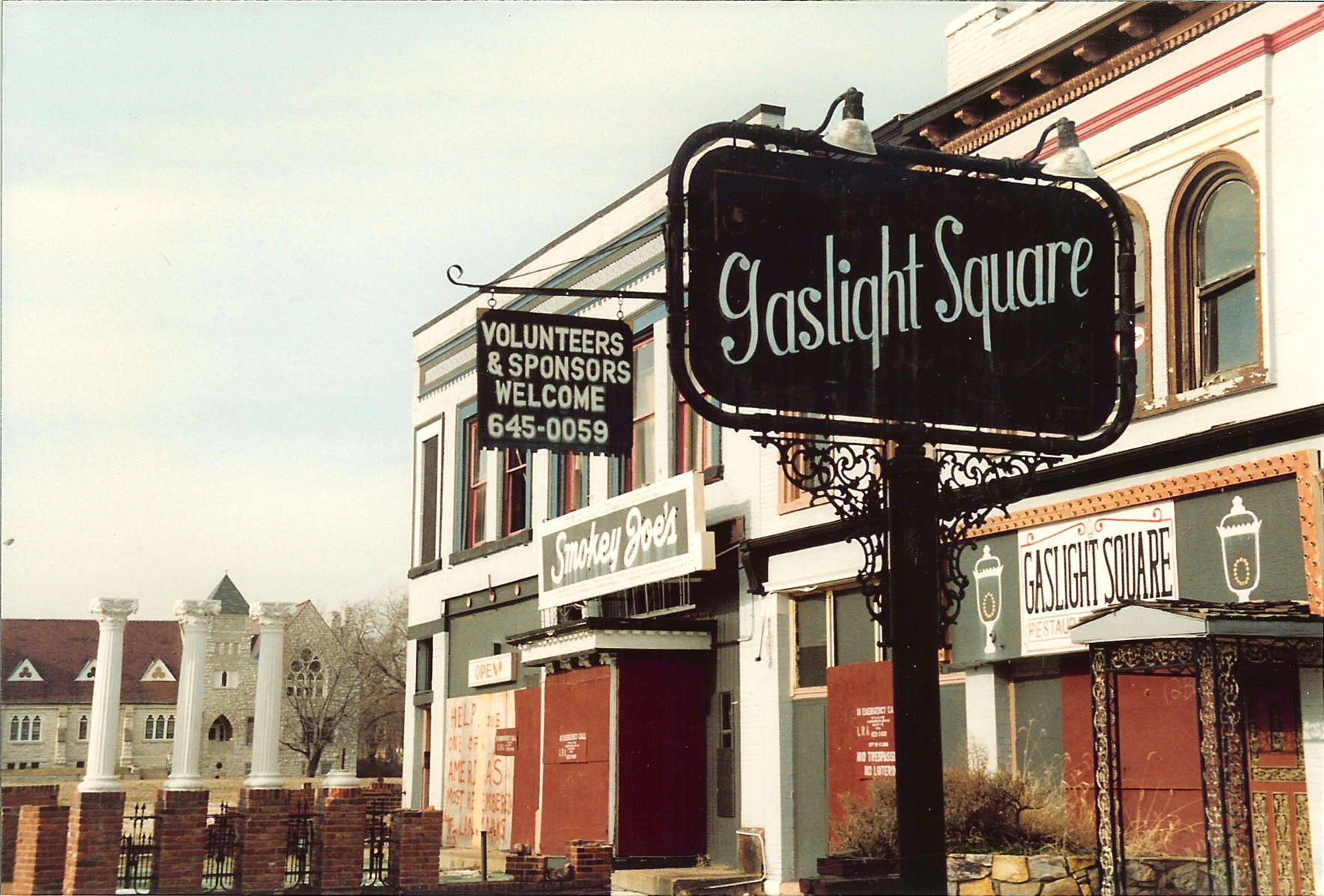 Gaslight Square St Louis Restaurants
