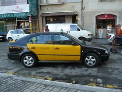 taxi barcelonais