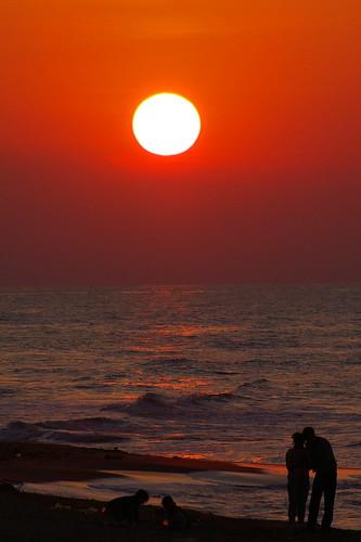 sunset color puglia apulia lesina