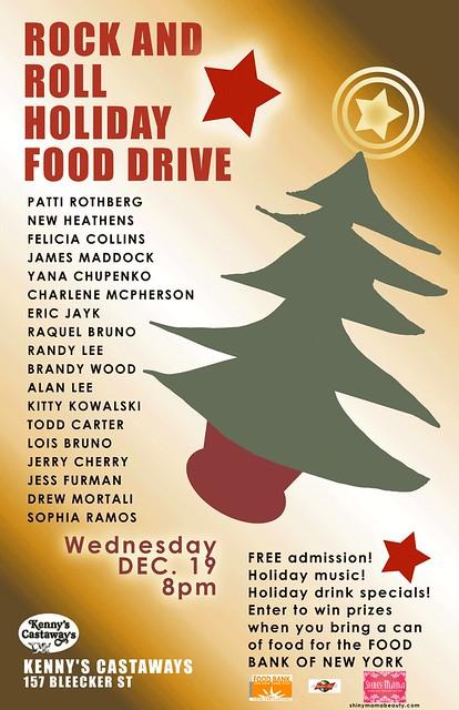 christmas food drive poster - photo #20