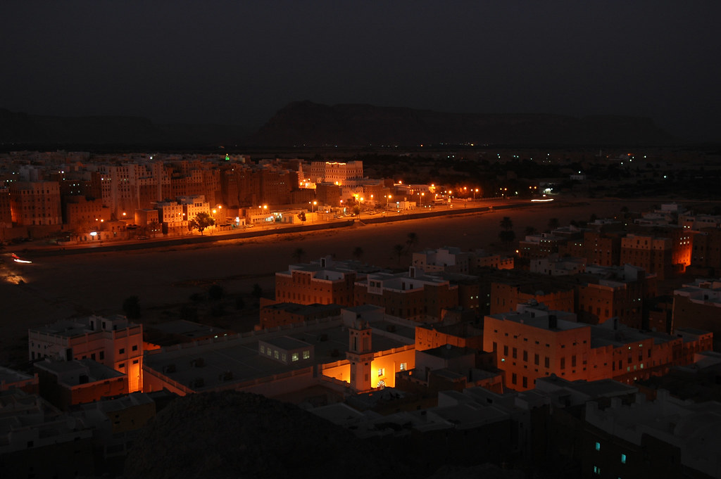 Shibam - In the evening