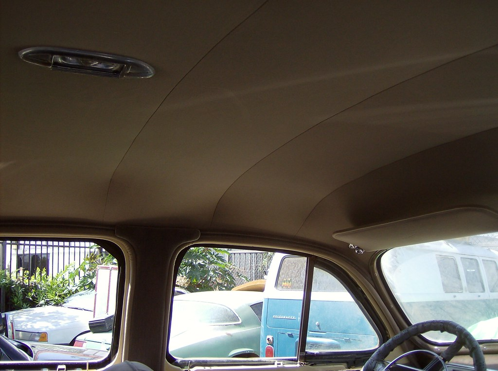 1946 Oldsmobile New Headliner by Batz Auto Upholstery | Flickr