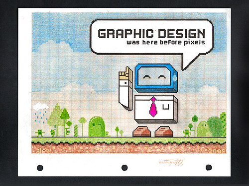 Graphic Design was here before pixels