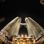 Petronas Towers At Night - Kuala Lumpur, Malaysia
