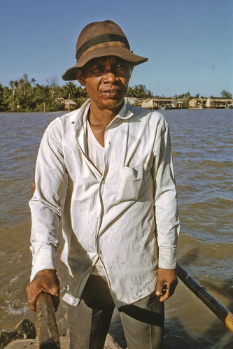 Water Taxi Pilot Mekong River January 1969 by Lance & Cromwell