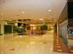 Overland Park, KS Metcalf South Shopping Center (a dead mall) corridor