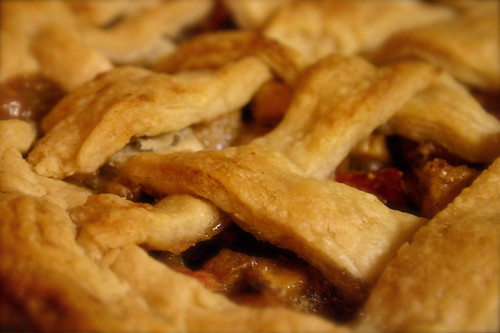 Rhubarb Apple Pie