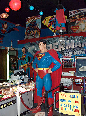 Superman Museum & Gift Shop : Metropolis, IL