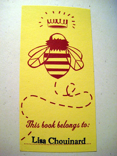 If'n Books Bookplate and VistaPrint Name Stamp