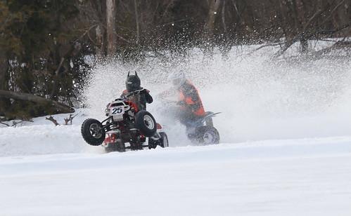 2.11.17 Tilleda Thunder - 25 Justin Edblom ATV wheelie but won feature
