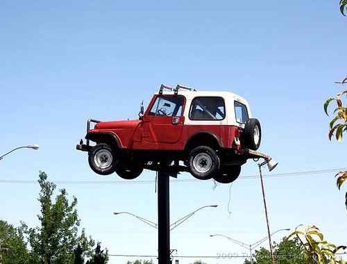 JEEP ON A STICK