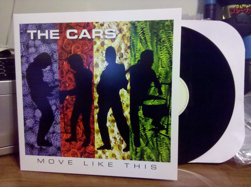 The Cars - Move Like This LP