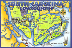 Lowcountry South Carolina Map.South Carolina Lowcountry Map Lauren Flickr