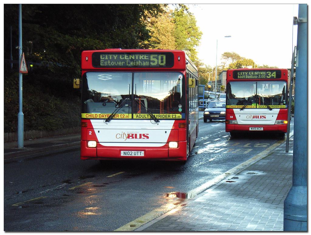 Plymouth Citybus 002 N102UTT