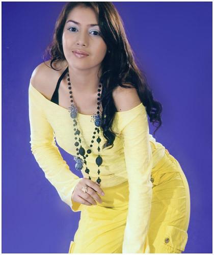 Christina Myanmar Model