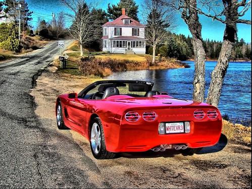 November run to Harvey in a Corvette