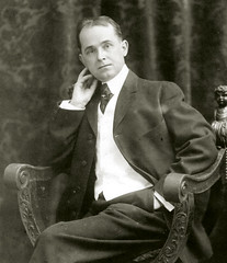Artist-writer Winsor McCay posing and looking his sharpest.