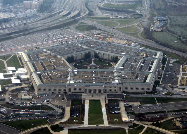 The Pentagon by CC user mindfrieze on Flickr