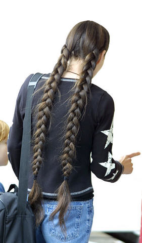 Twin Longhair Braids A Gallery On Flickr