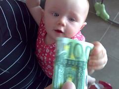 100 Euro Girl