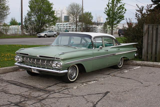1959 Chevrolet Impala 4 door | Flickr - Photo Sharing!