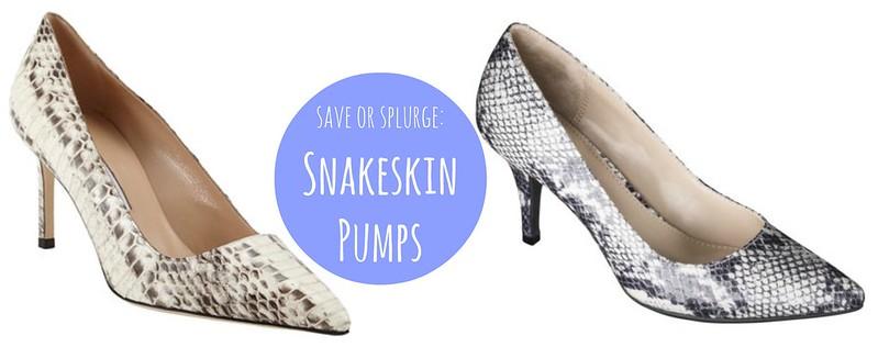 snakeskin pumps heels Target