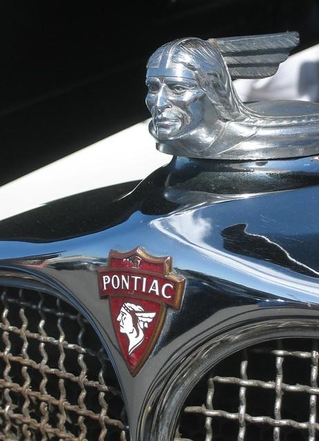 Pontiac Emblem Amp Hood Ornament 1931 Flickr Photo