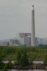 landmark, tower, power station,