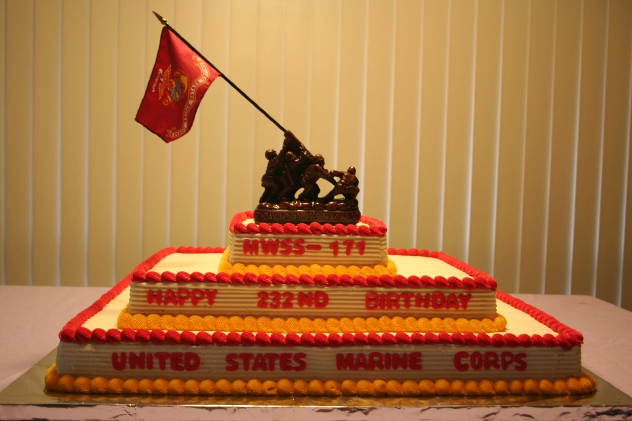 Marine Corps Birthday Cake A Photo On Flickriver