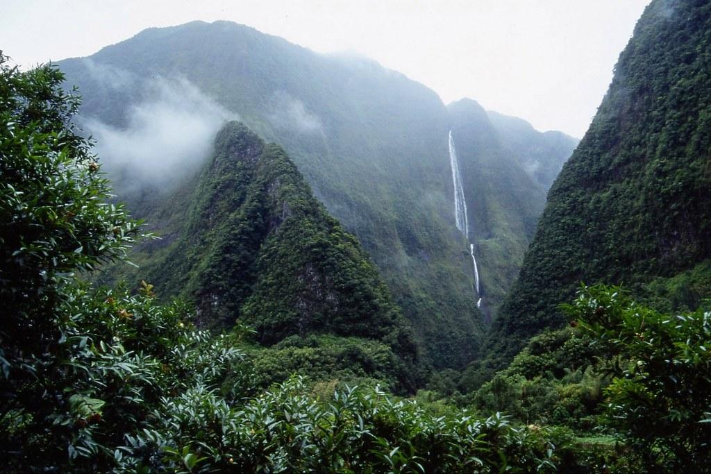 Landscape in Réunion Island
