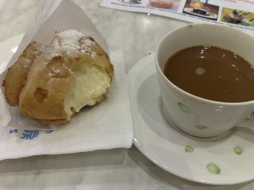 Beard Papa Cream Puff